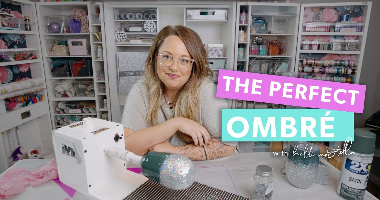 How to get the perfect glitter ombre