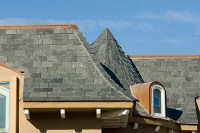 Real Slate roofing in Charlotte, NC