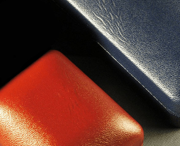 Holliston's Sturdite leather-like cotton cloth for luxury packaging