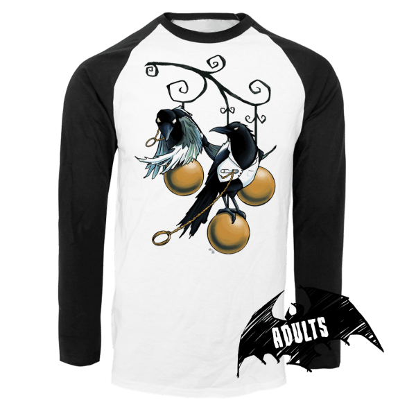 Lovebirds Baseball T-Shirt