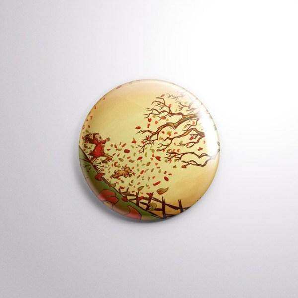 Autumn Has Arrived Badge