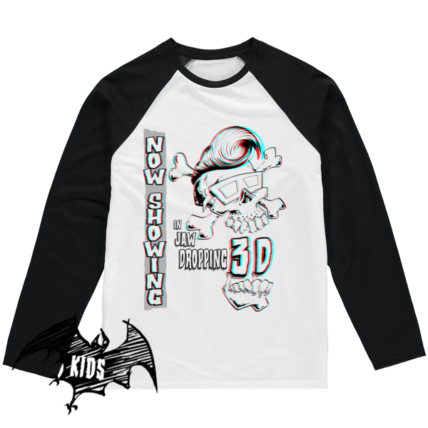 Jaw Dropping 3D Kids Shirt