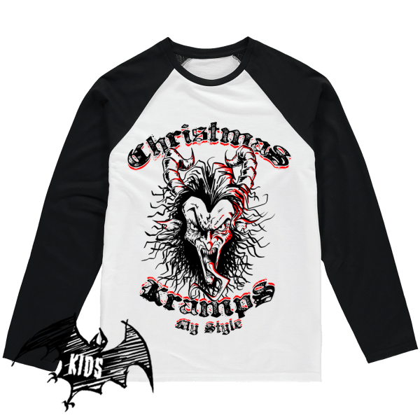 Christmas Kramps My Style - Krampus Kids Shirt