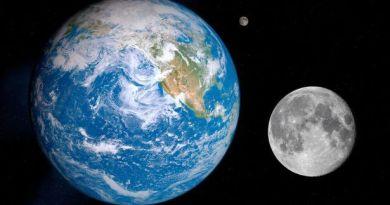 Pics: 4.5 billion years ago: Mini moon-like planets slammed into the Earth bringing Gold & precious metals