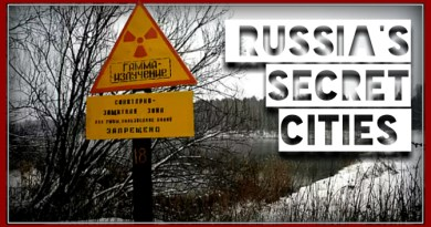 ZATO: Russia's 42 Top Secret Cities which you can't visit & which are not on any maps!