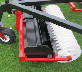 lightweight, staggered golf range ball picker