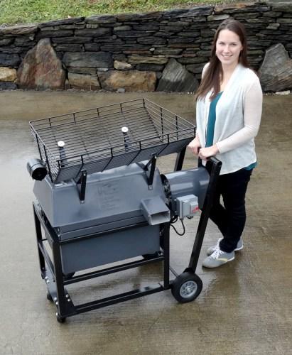 Golf Ball Washer wheeled cart