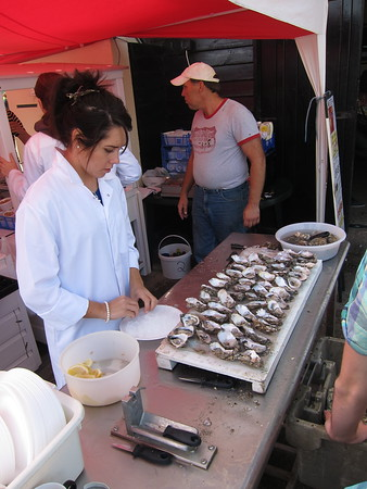 It is the oyster festival, after all