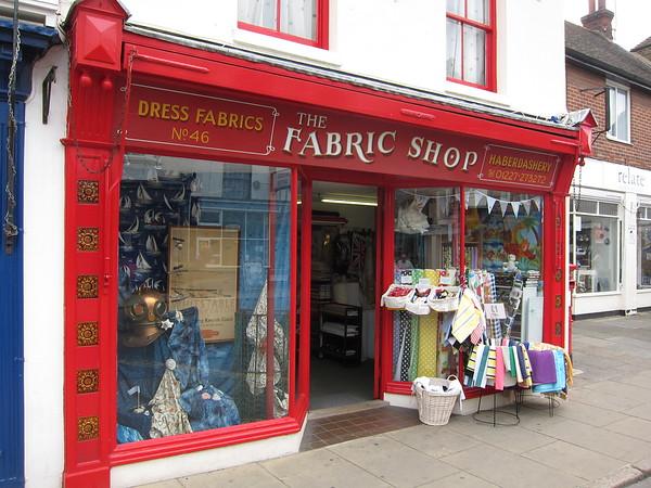 Fabric shop (come visit!)