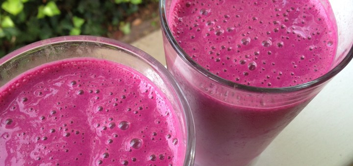Pineapple and Beet Powerhouse Smoothie