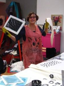 Lisa printing wool