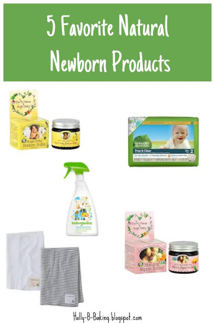 Five Favorite Natural Newborn Products