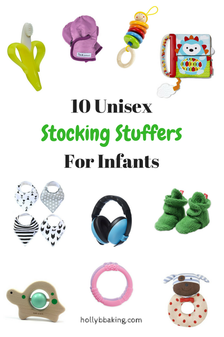 10 Unisex Stocking Stuffers for Infants