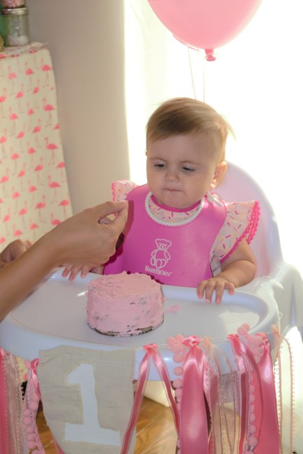First Flamingo Birthday Party