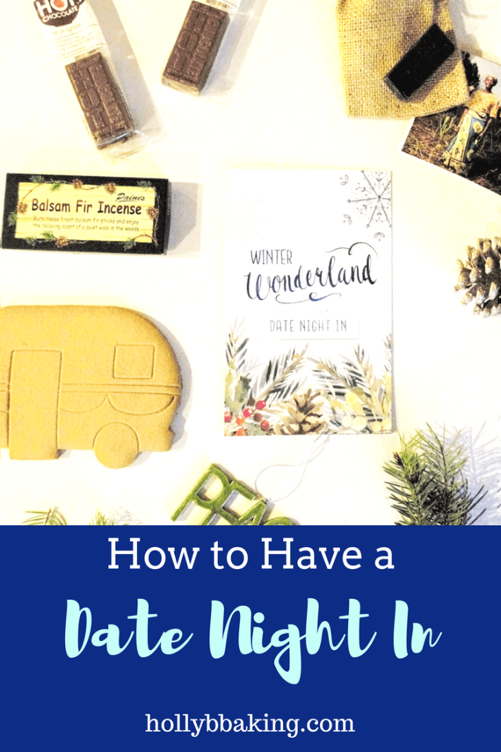 How to Have Date Night In -A Winter Wonderland date box Review