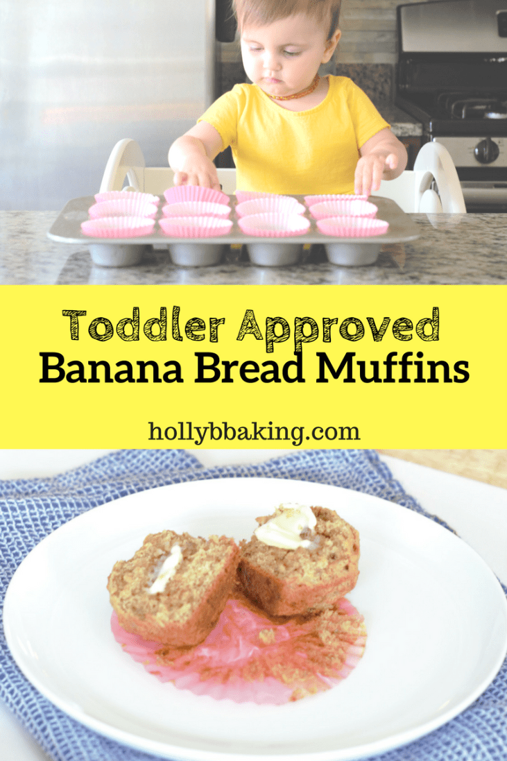 Clean Eating Banana Muffins (Toddler Friendly!)