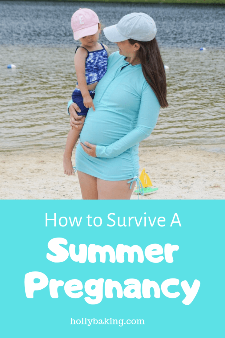 How to Survive Being Pregnant in the Summer