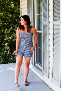 The Most Versatile Summer Piece: Gingham Rompers