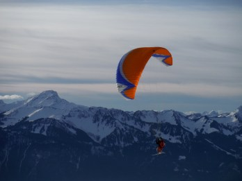 New Year Day Paragliding 2014