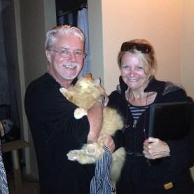 Duncan & Jane, House sitters extraotdinaire!