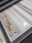 the marble for our master bathroom