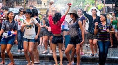 thai new year festival