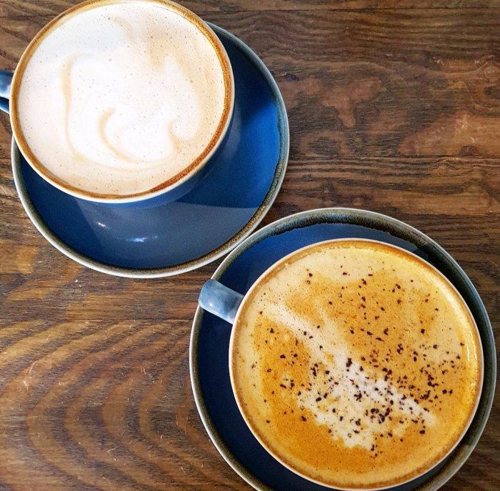 Vegan Oat Milk Tumeric Latte