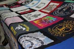 Some really fun t-shirts - sashed with t-shirts!