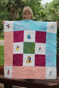Not too Shabby!  She might even win the quilt show again!