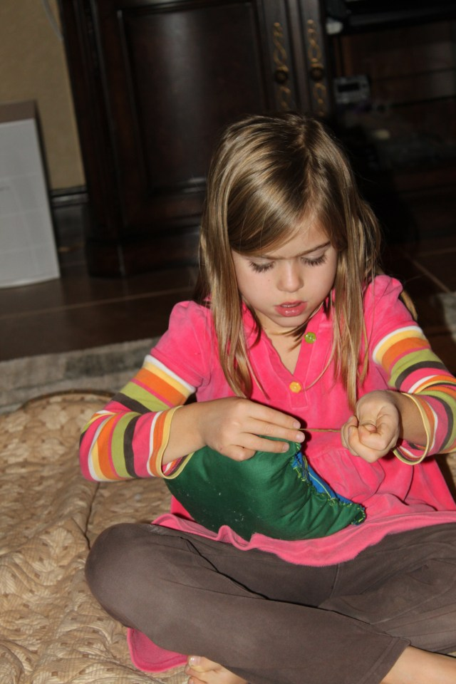 It really does warm my heart to see them enjoy crafts!