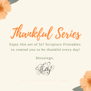 Thankfulness Printable Set Product