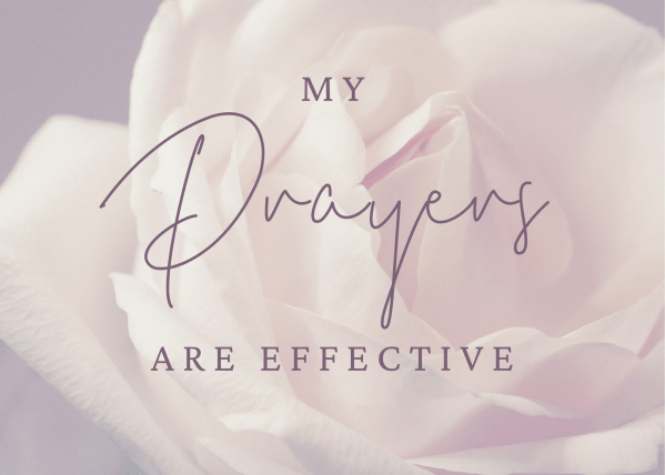 My Prayers Are Effective Rose Holly Murray Author Editor