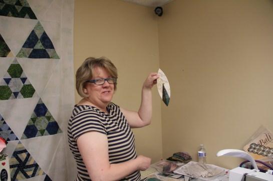 Yippee!  LuAnn made a melon!