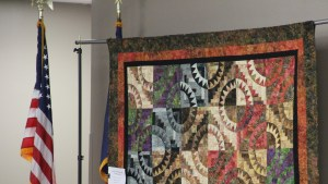 The Guild's Scholarship Quilt - Cabin Fever