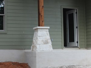 This - I love the cut stone caps!  Yes, our masons ROCK!