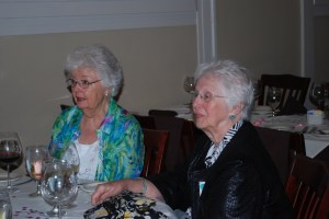 Quilting Friends - Elaine and Pat