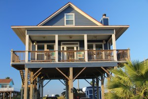 One of the beach houses