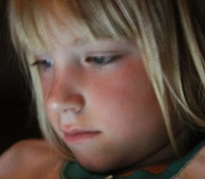 Cherished quiet times - before bedtime!