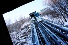 funicular up to the boardwalk