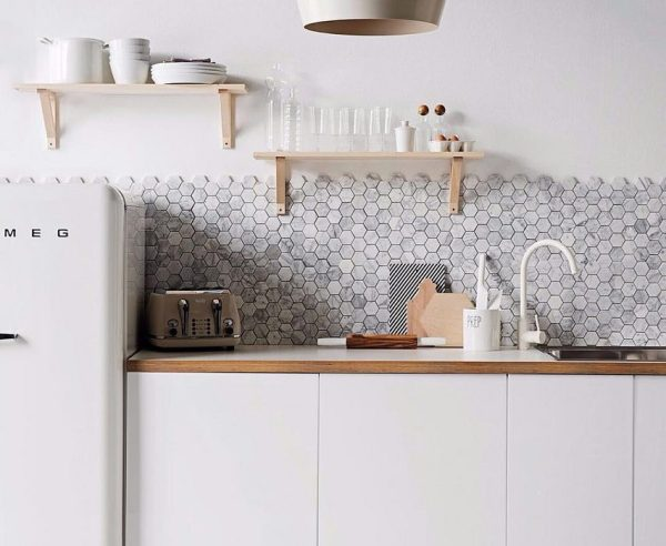 scandinavian kitchen tile designs On Trend - Tiles for Scandinavian Kitchen Designs - Holly Goes Lightly