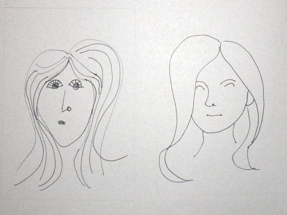 100 Faces: A Quick Sketch Project (5/6)