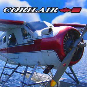 Corilair Seaplane Campbell River Vancouver Island ad