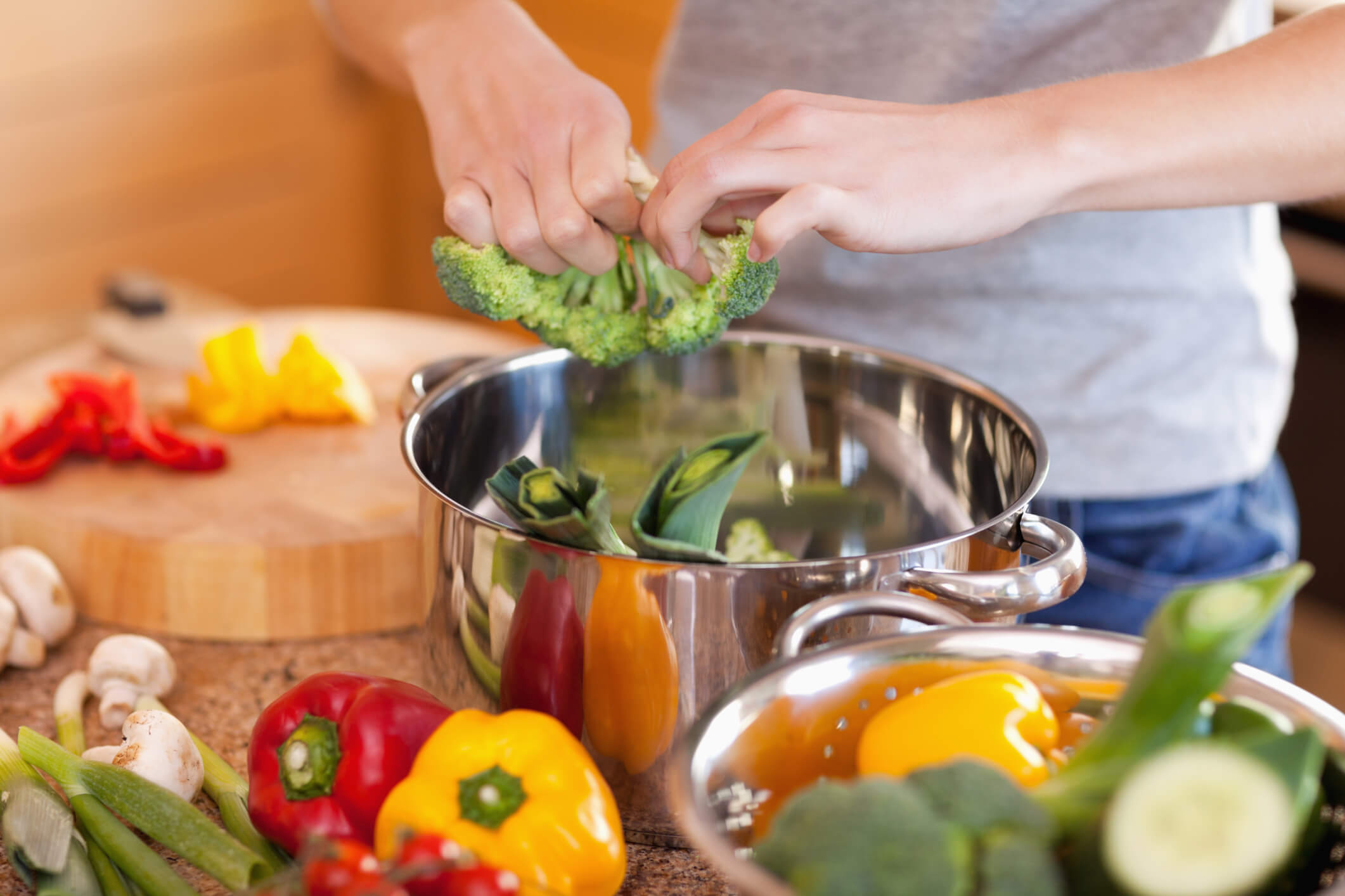 Making Healthy Cooking A Priority