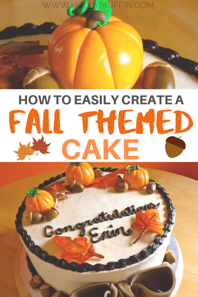 How to easily create a fall themed cake!