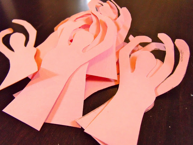 DIY Ballerina Cupcake Toppers