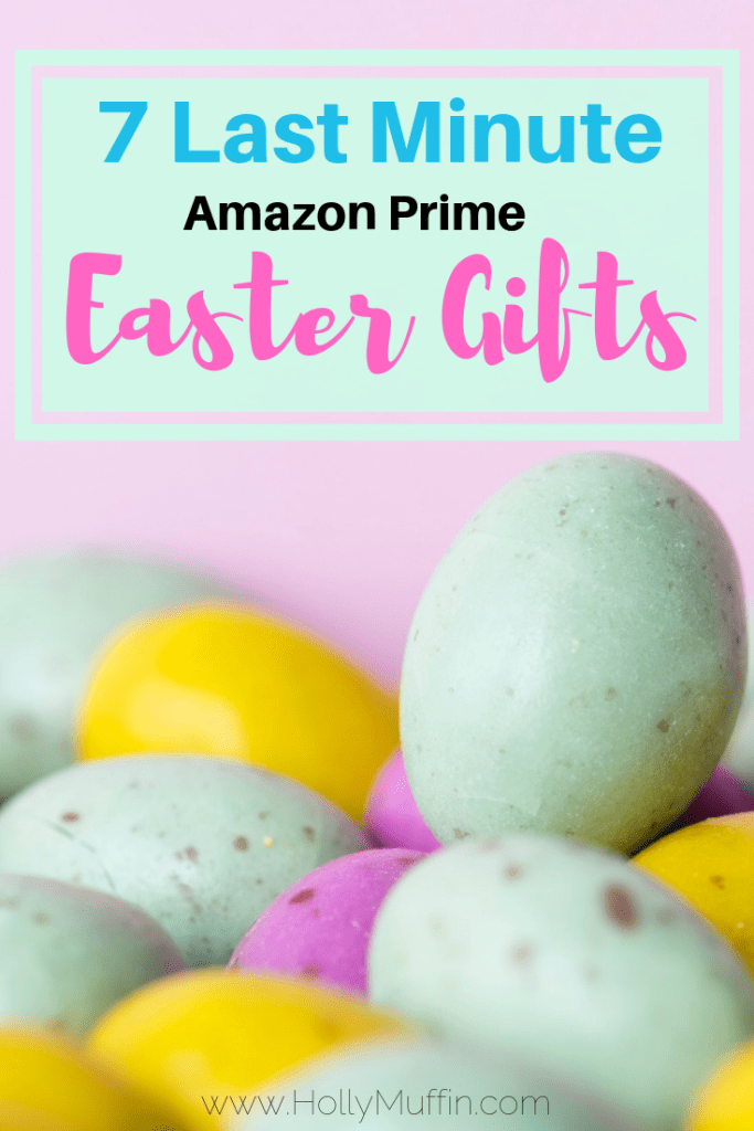 7 last minute Easter gifts that are all Amazon prime eligible! #easter #amazonprime