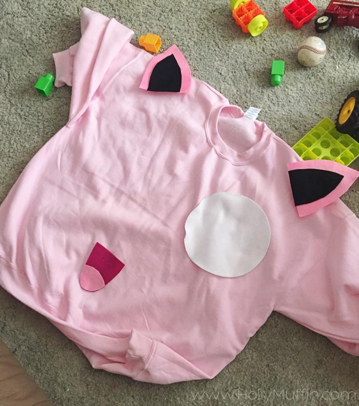 DIY Jigglypuff costume