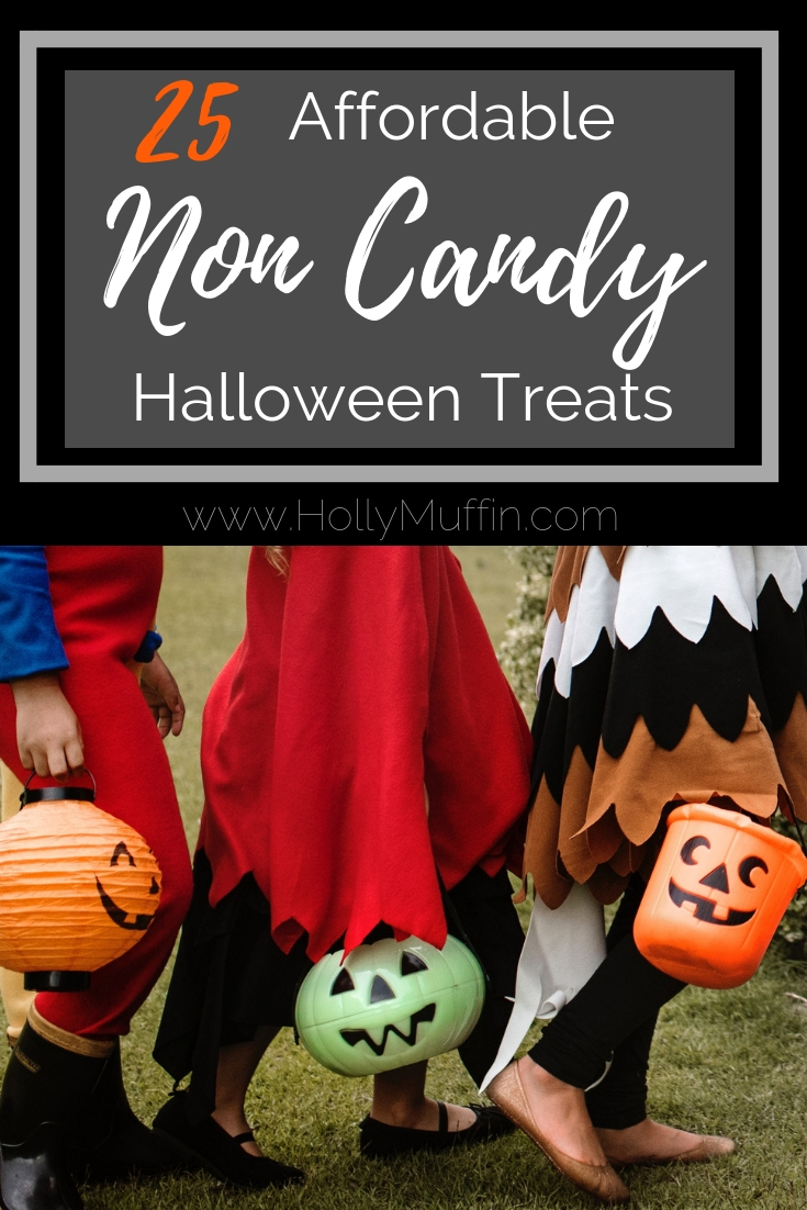 25 Affordable Non Candy Halloween Treats