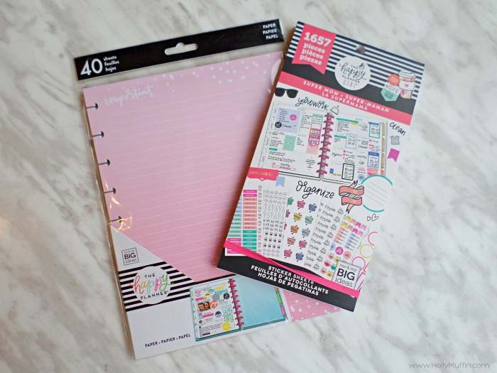 The super mom happy planner. My favourite feature is the weekly dashboard!