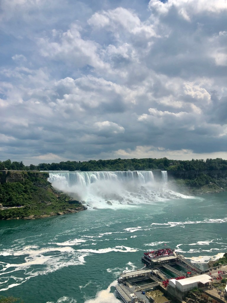 Niagara Falls Canada - Currently August
